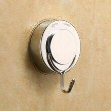 Vacuum Suction Cup Sucker Shower Towel Bathroom Kitchen Wall Door Hook Hanger