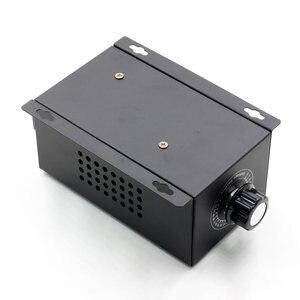 Image 5 - Régulateur de tension électronique SCR 220V 10000W, réglage de la vitesse de la température, variateur de puissance