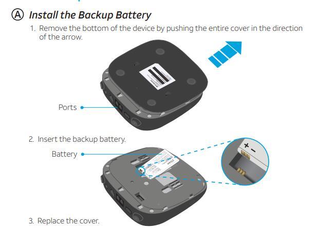 Router Hotspot 4G LTE UNLOCKED ZTE MF279 WIFI + Battery USA