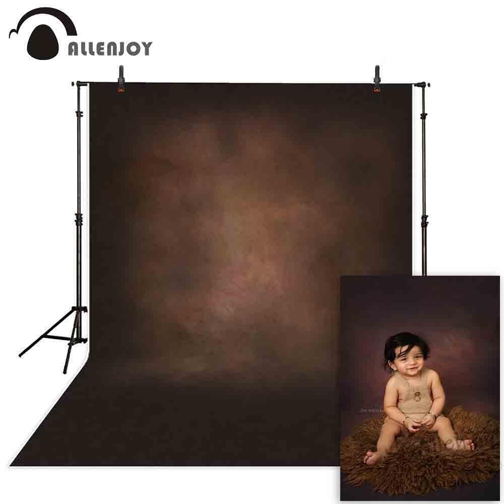 Allenjoy фотофоны одноцветные виниловые старый мастер темно коричневый фотографический фон фотостудия Свадебные фотосессии|photographic background|yellow backdrop|backdrop children - AliExpress