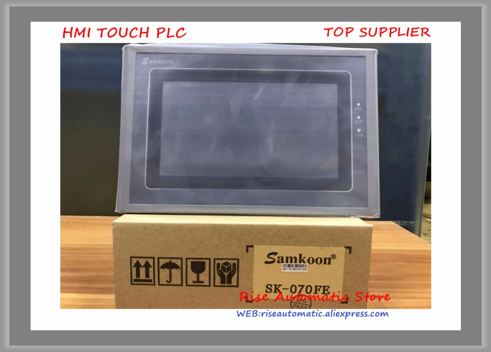 SK-070FE 7 inch HMI Touch Screen 800*480 new replace SK-070AE touch screen 7 inch hmi mt6070ih5 new