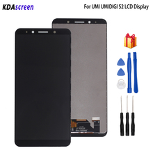 Original ForUMI UMIDIGI S2 LCD Display Touch Screen Digitizer Replacement For UMI S2 Display Screen LCD Phone Parts Free Tools