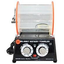 5kg Rotary Tumbler For Polishing Machine Finishing Burnshing Grinding Tools Equipment For Jewelry Tools Drum Polishing