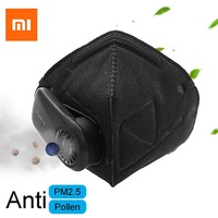 Xiaomi Airpop Mask Anti Pollution Respirator PM2.5 Filter Outdoor Cycling Anti allergen Anti Dust Air Mask Breathing Purifier 1p