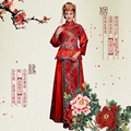 ZZB002 Chinese Style costume dress Chinese wind toast clothing chinese traditional female suit