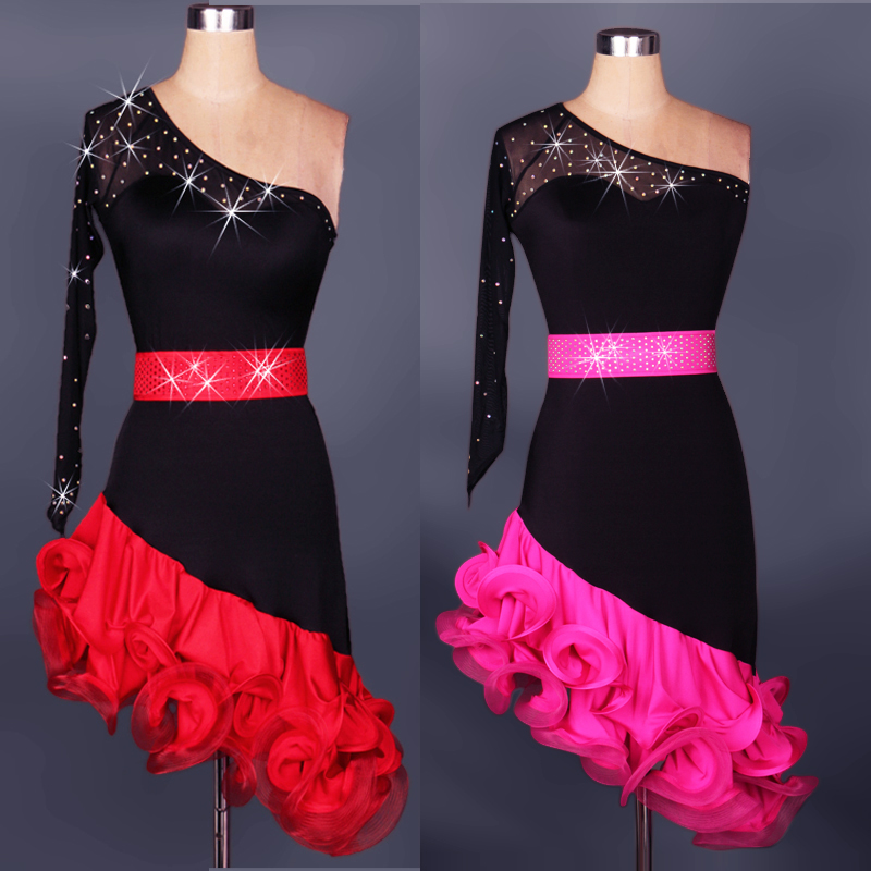 Woman Latin performance dancing suit Latin dance dress Cha Cha Rumba Samba Dance Wear