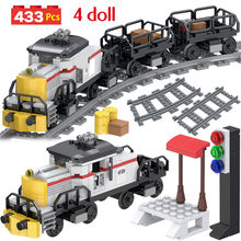 Technic Sets Compatible City Train Freight Power Railway Model Blocks Brick Toys For Children Birthday Gift(China)