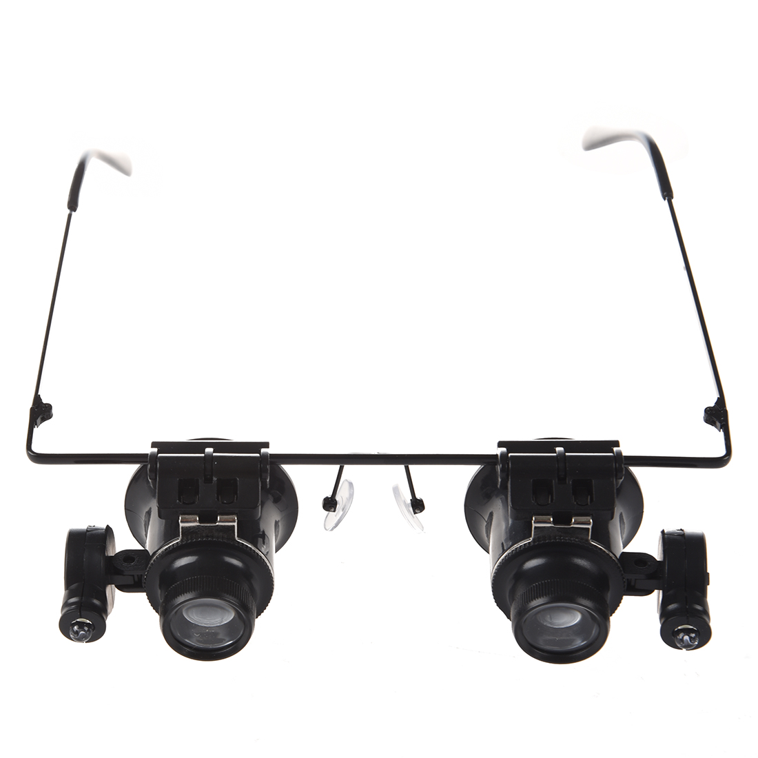 DSHA New Hot 20x Magnifier Magnifying Eye Glasses Loupe Lens Jeweler Watch Repair LED Light
