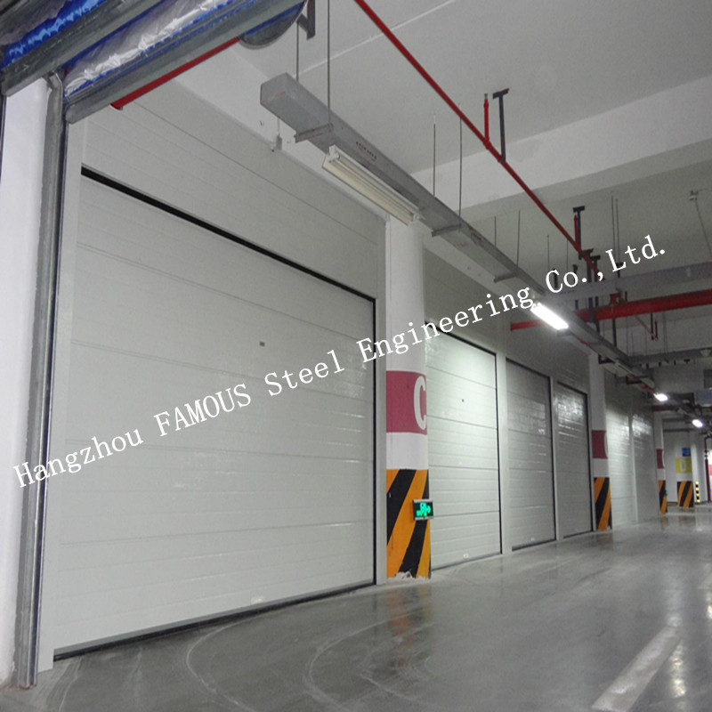 Industrial Automatic High Speed PVC Fabric Aluminium Alloy Electric Roller Shutter Doors
