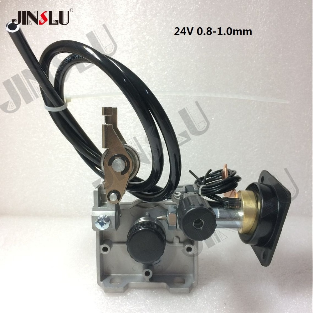 24V 0.8-1.0mm ZY775 Wire Feed Assembly Wire Feeder Motor MIG MAG Welding Machine Welder Euro Connector MIG-160 JINSLU professional 24v 0 6 0 8mm ssj 29a wire feed assembly wire feeder motor mig mag welding machine welder euro connector mig 160