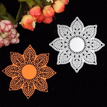 Lovely Flower Doily Metal Cutting Dies Stencils for DIY Scrapbooking/photo album Decorative Embossing DIY Paper Cards(China (Mainland))