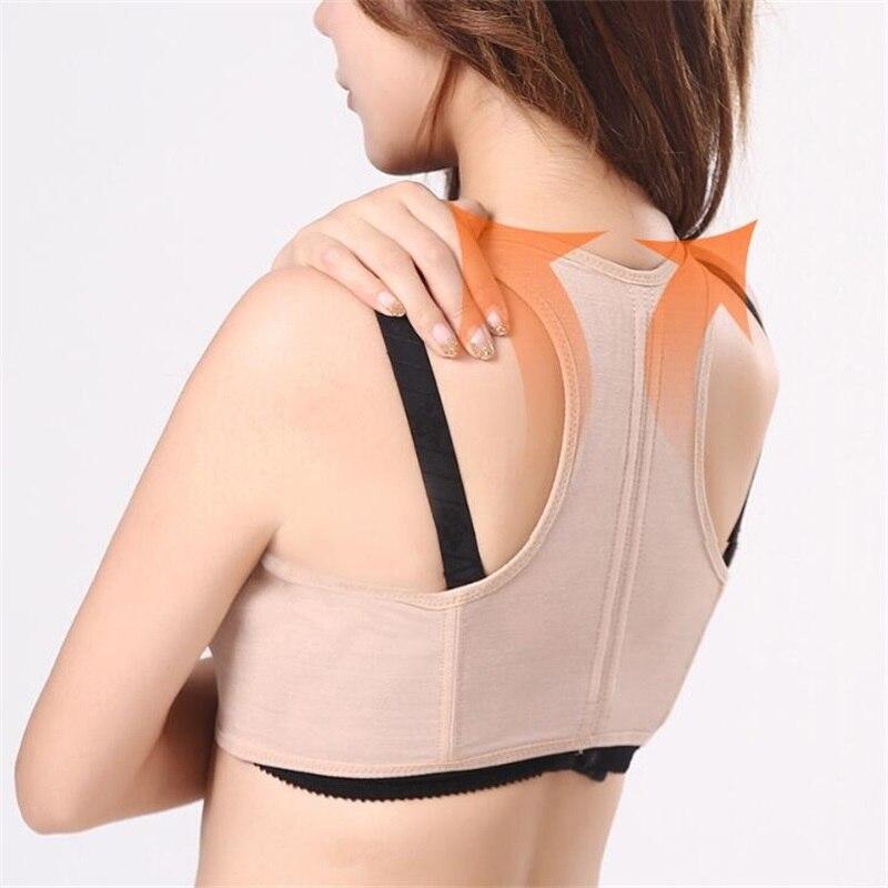 Women Orthopedic Magnetic Therapy Corset Back Posture Corrector Belt Shoulder Support Correction