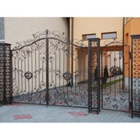 Iron Fancy Gates Iron Wrought Gates Iron Rod Gates