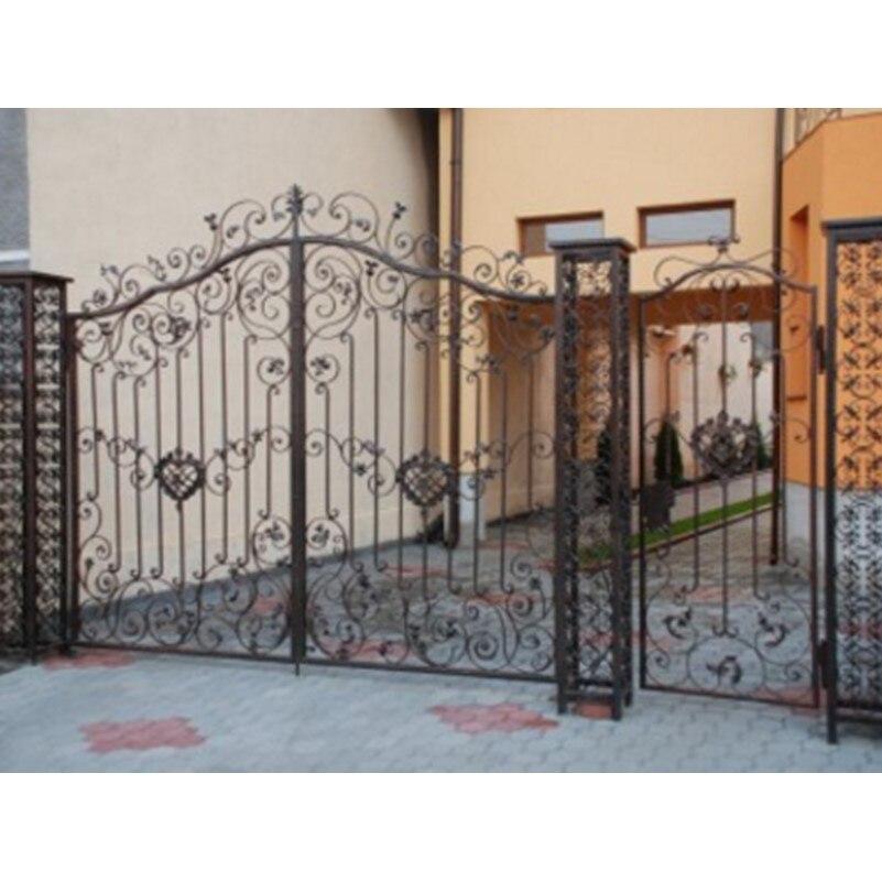 Iron Fancy Gates Iron Wrought Gates Iron Rod Gates