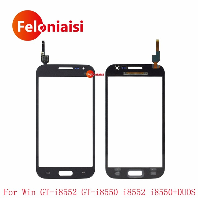 """50Pcs/lot 4.7"""" For Samsung Galaxy Win GT-i8552 GT-i8550 i8552 i8550 DUOS Touch Screen Digitizer Sensor Outer Glass Lens Panel"""