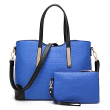 Multi-purpose PU Leather Material Bags Fashion Alligator Lash Package New Style Waterproof High Quality  Ladies Handbag