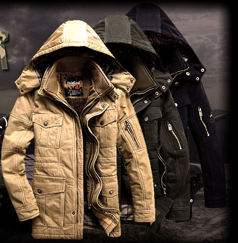 64804242ba6 US $195.72  Military Cotton Padded Jacket Men Coats With Hood Fitness Thick  Warm Winter Coat For Man Outdoors Snow Wear Tactical Jackets-in Jackets ...
