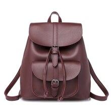 2019 New Women Girl Vintage Backpack School Bag Shoulder Fashion Travel Casual Rucksack