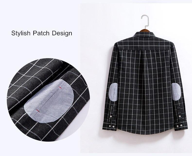 Black Flannel Shirt   Plaid Design Shirt   Mithumart