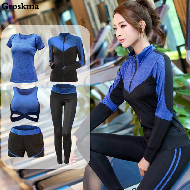 4b0a0f46c Detail Feedback Questions about Brand 2019 Gym Sports Suits Women s ...
