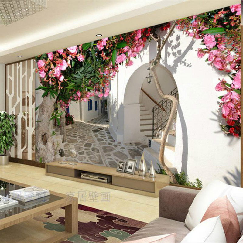custom 3d summer flowers flower vine taste minimalist backdrop mural 3D wallpaper 3D wallpaper living room bedroom creative free shipping custom modern 3d mural bedroom living room tv backdrop wallpaper wallpaper ktv bars statue of liberty in new york