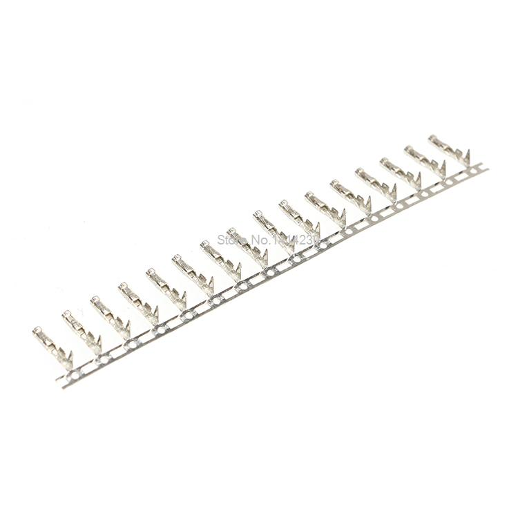 100PCS 2.54mm Dupont Jumper Wire Cable Housing Female Pin Connector Terminal 100pcs 2 54mm dupont jumper wire cable housing female pin connector terminal