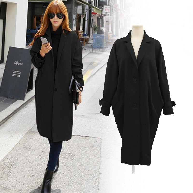 Nouveau manteau femme ample grande taille costume à manches longues veste formelle veste matelassée femme