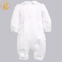 Baby Boys Satin Formal Occasion Romper