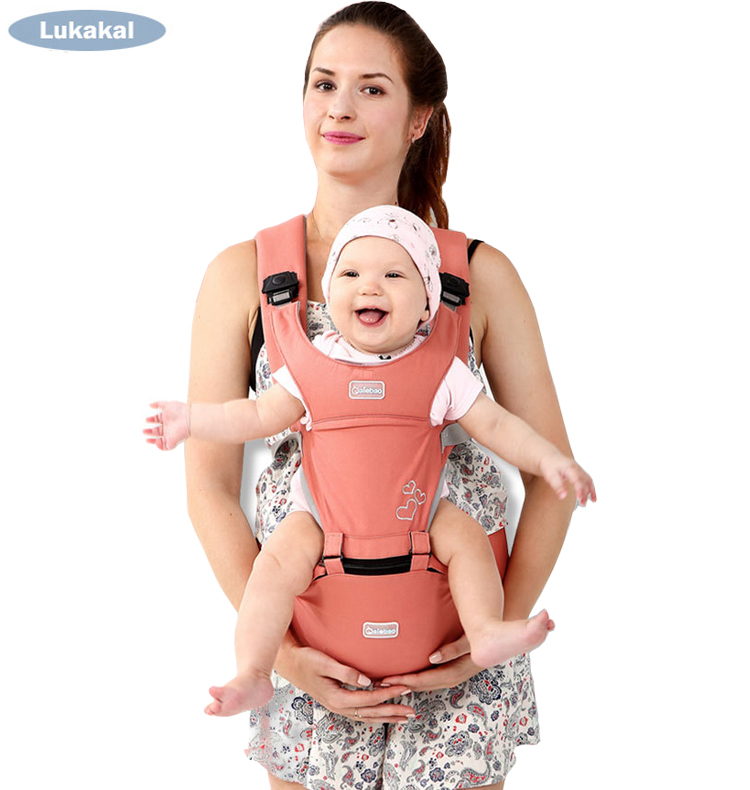 Ergonomics Baby Carrier Hipseat 1-36 Month Portable Kangaroos Breathable Baby Backpack For Carring Children Wrap Infant Sling