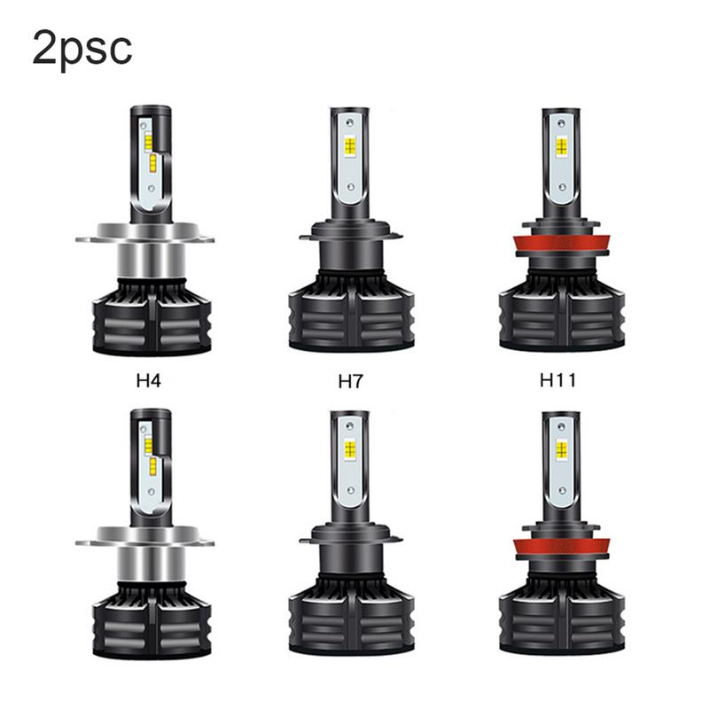 2PCS Three color Temperature Smart Version Of The Car LED