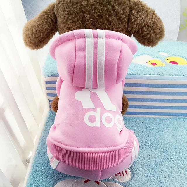 Winter Warm Pet Dog Clothes Four-legs Hoodie Small Dog Sweaters Coats Cotton Puppy Clothing Outfit for Chihuahua XS-2XL 1
