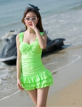 YTS008 Summer New Hot Sexy One-piece suit Underwire Women swimwear Solid Colors Swimsuit  For Woman 2017 Hot Size M L XL