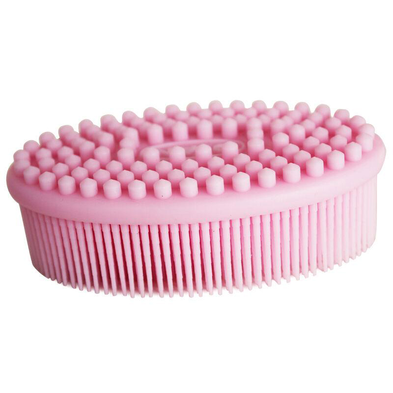 Vieschen Soft Silicone Bath Massage Brush Shampoo Massaging Brush Long Bristle Silicone Body Bath Relaxation Scalp Massage Comb цена и фото