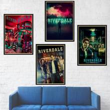 TV Show Series Crime Suspense Riverdale retro Poster kraft paper print Painting For Home wall decorative painting poster(China)