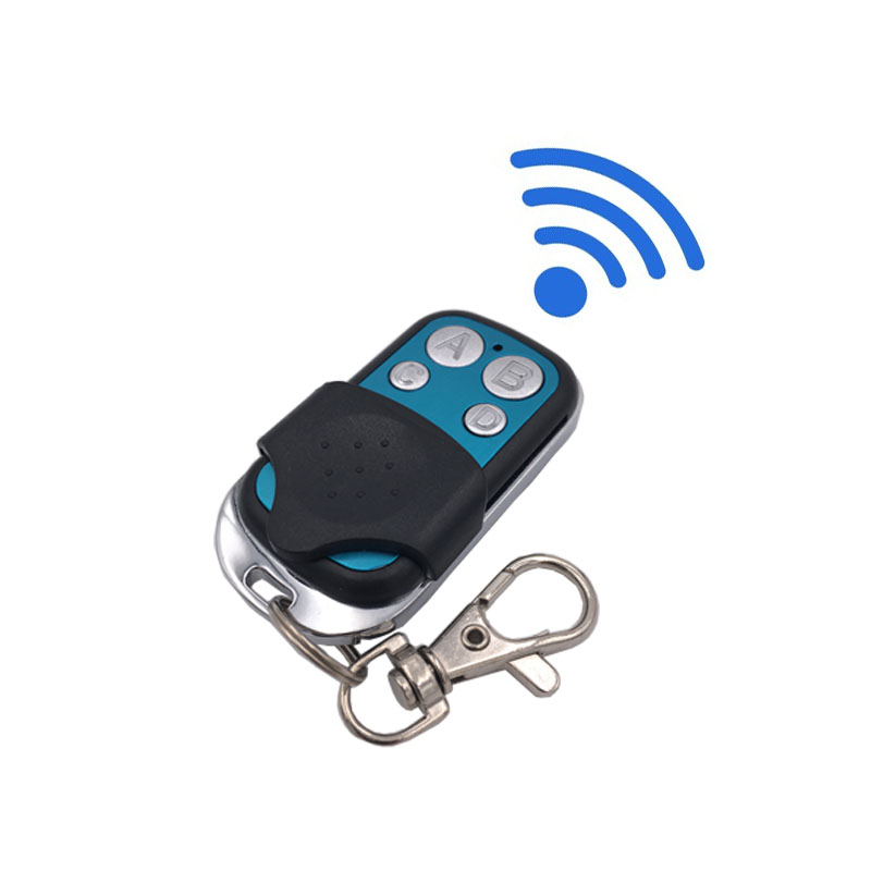 433MHz Universal RF Remote Control Copy Code 4 Buttons Transmitter Cloning Duplicator For Learning Gate Garage Light controller