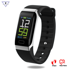 R7 USB Charging Smart Band OLED Screen IP67 Waterproof Heart Rate Monitor Bluetooth Smart Bracelet Wristband For IOS Android цена 2017
