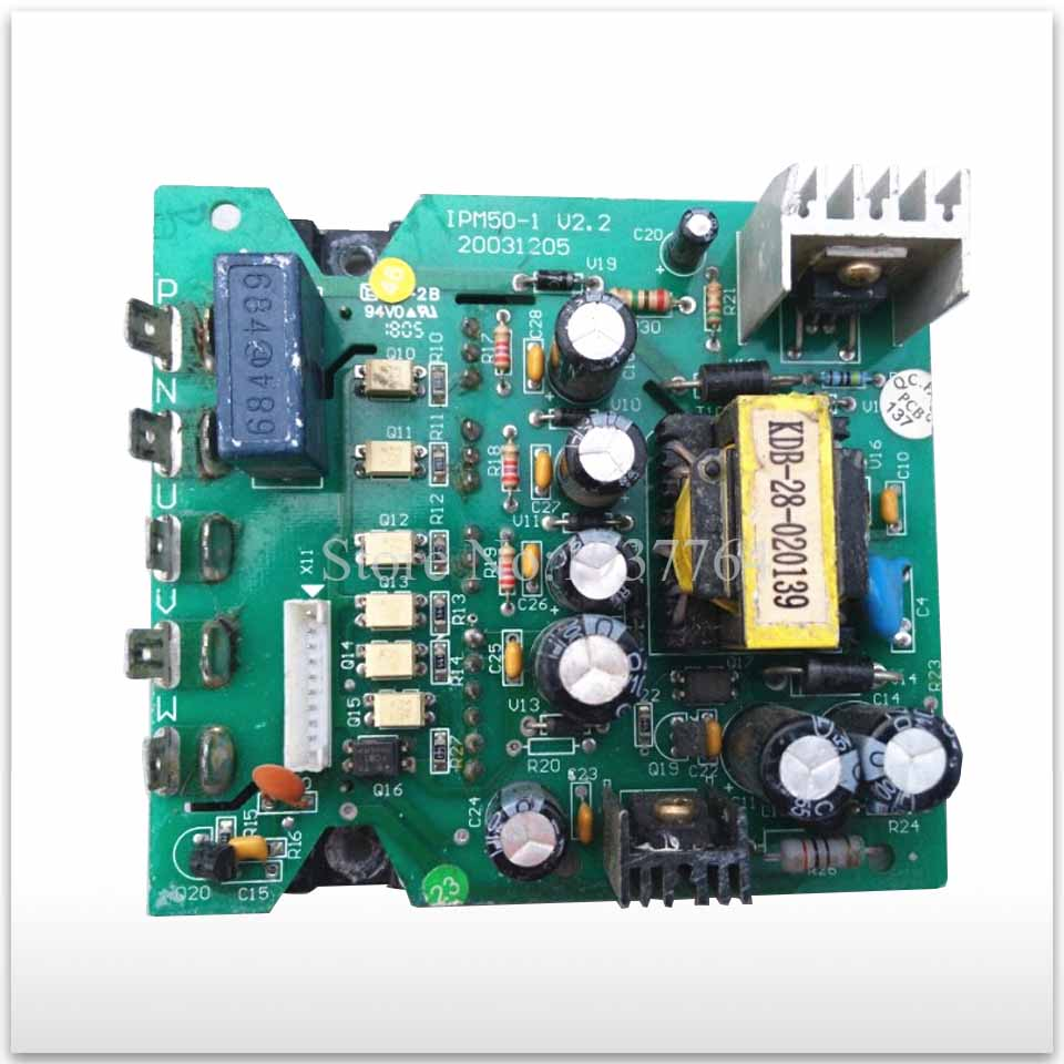 95% new used for Air conditioning Frequency conversion module IPM50-1.V2.2 good working 7 units ipm frequency conversion velocity modulation module mubw25 12a7 25a1200v