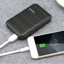 USAMS 10000mAh power bank Large Capacity Powerbank LED Dual USB Poverbank 10000 mAh Mobile Phone Fast Charger External Battery