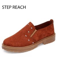 STEPREACH Brand Shoes Woman Women Zapatos Mujer Sapato Feminino Chaussures Femme Pumps Casual Round Toe Adult