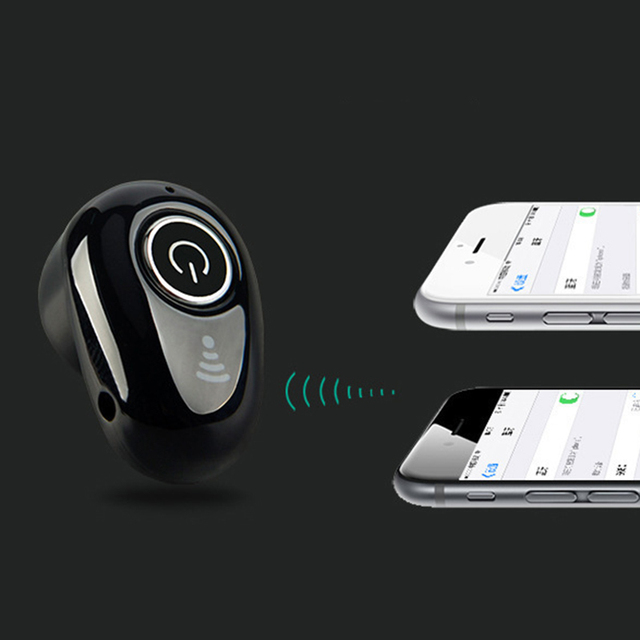kebidu Wireless Bluetooth S650 Mini earphone Handsfree Headset In-Ear Stereo Music Headphone Sporting Earbud for iOS/Android