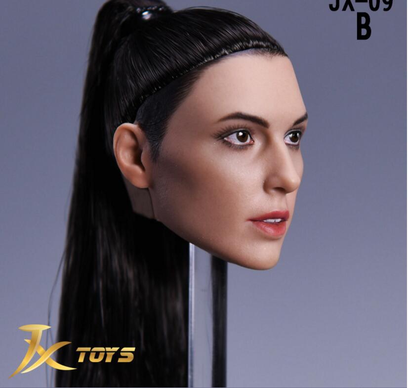 JXtoys 1//6 Gal Gadot Wonder Woman Head Sculpt JX-09 F 12/'/' Female Action Figure