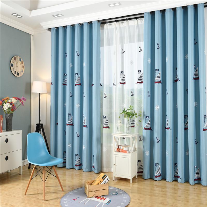 byetee nios cortinas para vivir blackout cortinas bordadas nios habitacin del beb dormitorio de