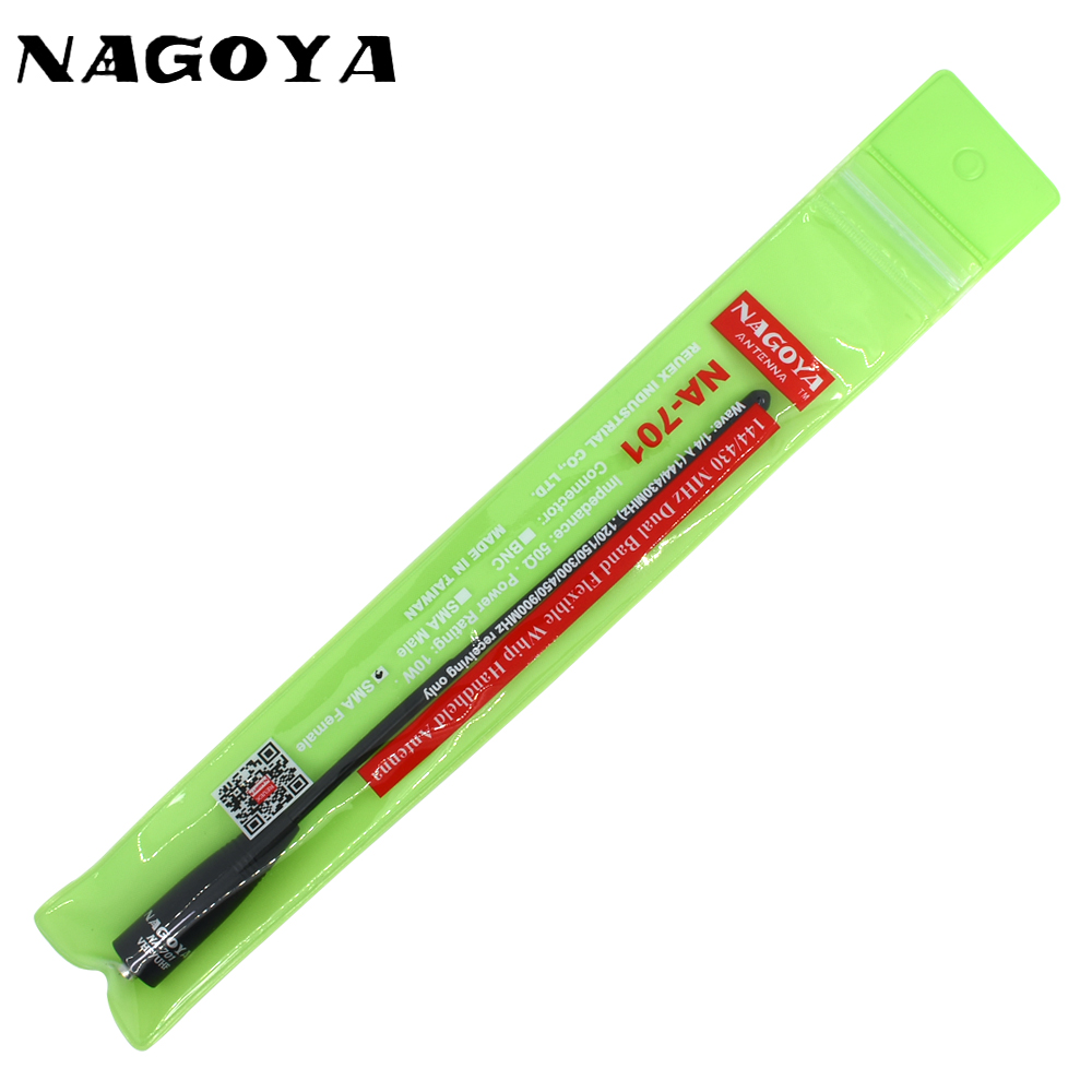 Nagoya na-701 sma-f Female vhf uhf  Dual Band For Baofeng UV-5R UV-5RA UV-B5 BF-888S Two Way Radio 144/433MHz Antenna