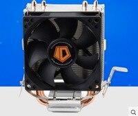 Free Shipping High Quality 80mm Fan 2 Heatpipe TDP 95W For LGA 775 1150 1151 FM2