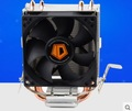 Envío de la Alta calidad 80mm ventilador 2 heatpipe TDP 95 W para LGA 775 1150 1151 FM1 FM2 AM3 AM2 + CPU ventilador enfriador ID-Refrigeración SE-802