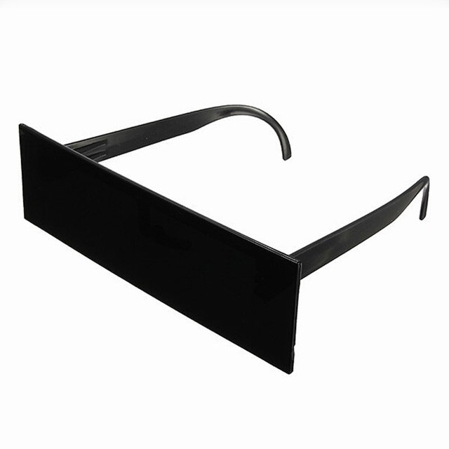 310bce8396 Wholesale Deal With It Glasses One Piece Rectangle Black Bar 50pcs  lot