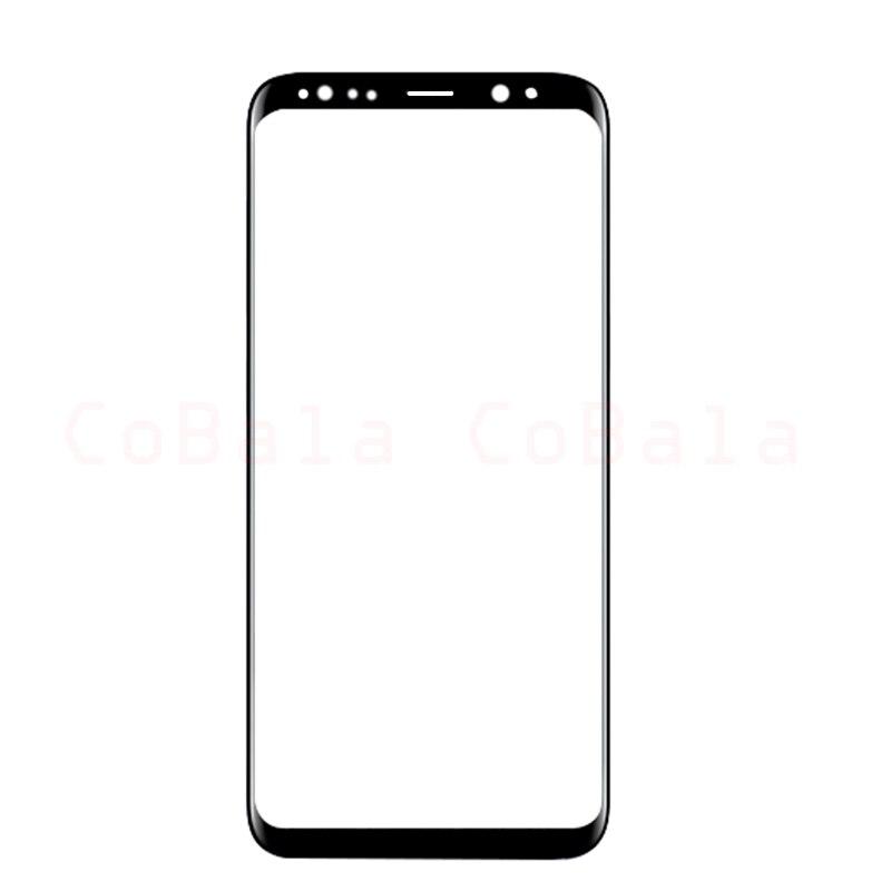 """imágenes para 1 Unids Origina para Samsung Galaxy S8 + S8 Más Borde G955F G955 Vidrio Delantero 6.2 """"Lovain Outer Lente de la Pantalla táctil de Reemplazo Del Panel"""