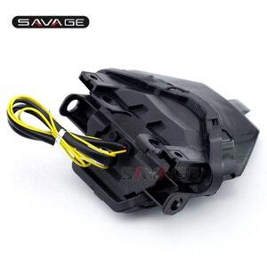 Image 5 - Fanale posteriore Per YAMAHA MT 07 MT07 FZ 07 MT 25 MT 03 YZF R3 R25 Accessori Moto Integrato LED indicatori di Direzione di Montaggio