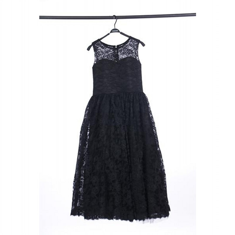 Real Image Black Lace Flower Girl Dresses High Quality With Big Bow