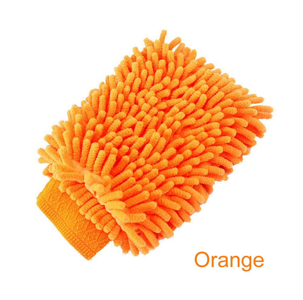Image 2 - Car Washing Glove Car Cleaning Care Detailing Tools Sponge Hand Towel Coral Chenille Soft Vehicle Car Accessories-in Sponges, Cloths & Brushes from Automobiles & Motorcycles